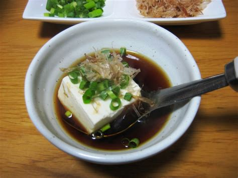 tofu cuisine boiled tofu yudofu food in