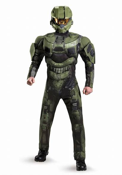 Chief Master Costume Halo Muscle Plus Adult