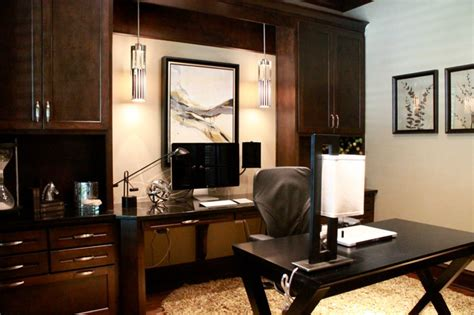 Masculine Home Office Decorating Ideas by Contemporary Masculine Home Contemporary Home Office