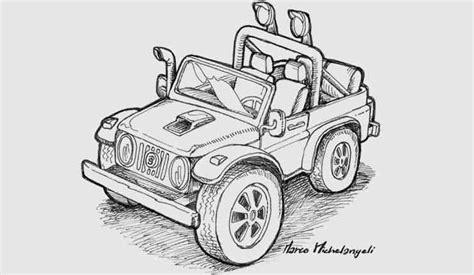 disegni da colorare jeep disegni da colorare una jeep quot fuori strada quot m