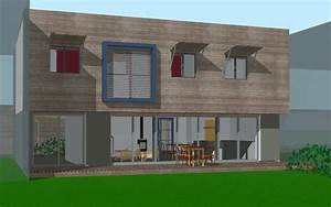 Maison Bioclimatique Passive : maison bioclimatique passive romill atelier architecture verte ~ Melissatoandfro.com Idées de Décoration