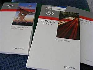 2014 Toyota Prius V Owners Manual Guide Book  Paperback
