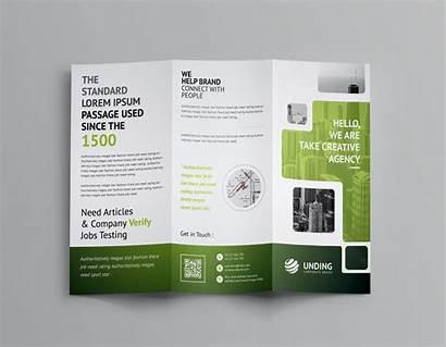 Brochure Fold Tri Template Stunning Corporate Business