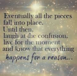 Everything Happens for a Reason Poem
