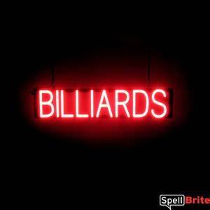 BILLIARDS Signs