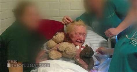 woman eaten alive  mites  nursing home staff