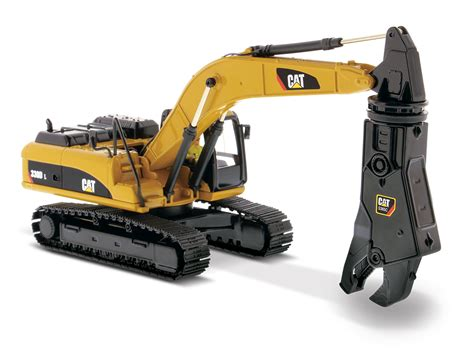 330D L Hydraulic Excavator With Shear | Diecast Masters