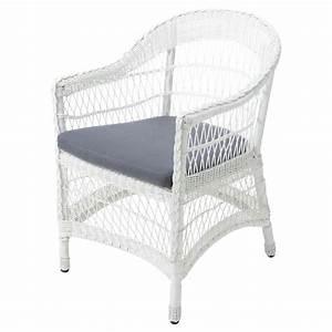 Fauteuil De Jardin Maison Du Monde : fauteuil de jardin blanc emily maisons du monde ~ Premium-room.com Idées de Décoration