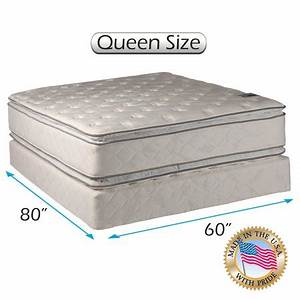 Comfort Double Sided Pillowtop Queen Size 60quotx80quotx12