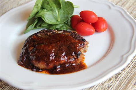 hamburger steak hamburger steak recipe japanese cooking 101