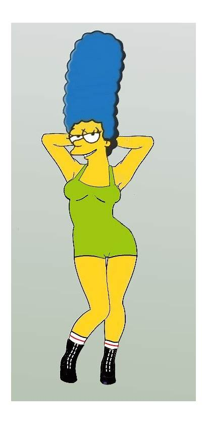 Marge Simpson Deviantart Lady Wrestler Drawing Favourites