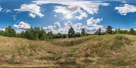 360° View of full 360 degree seamless panorama in ...