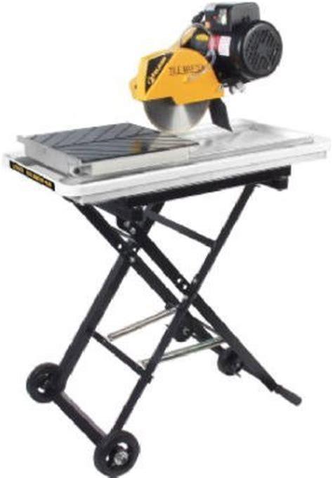 Brutus Tile Saw 61024 by Dewalt D24000 1 5 Horsepower 10 Inch Tile Saw
