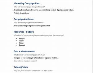 the best marketing campaign template for success coschedule With marketing campaign brief template