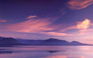 Pink Sky Mountains & Sea wallpapers Pink Sky Mountains