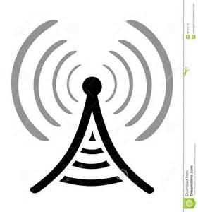 Radio Antenna Symbol
