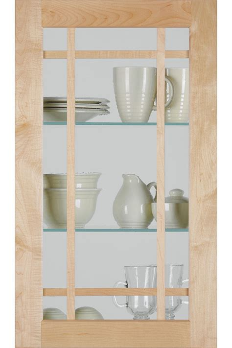 shaker mullion door  antique glass homecrest
