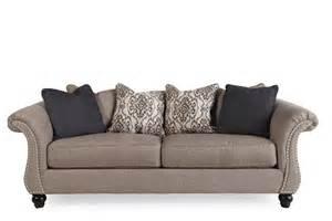 ashley jonette stone sofa mathis brothers furniture