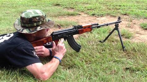Surrell Shooting The Rpk Machine Gun