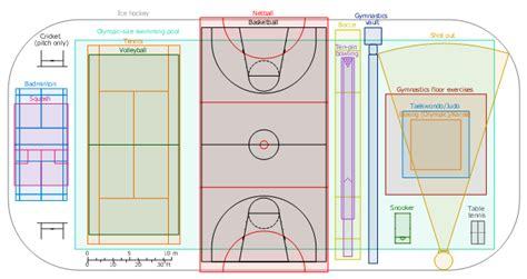 volleyball court dimensions sport fields  recreation