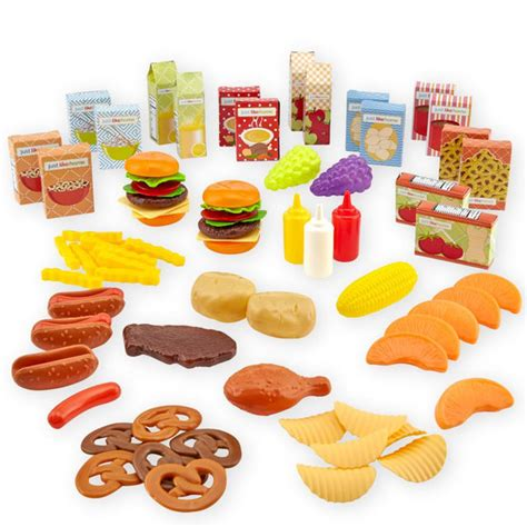just like home dinner play food toys quot r quot us
