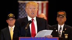 President Donald Trump Week 13: Taking Care of Veterans