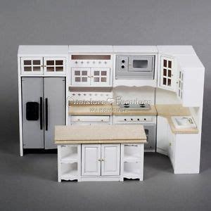 miniature dollhouse kitchen furniture 1 12 dollhouse miniature furniture model handcrafted white