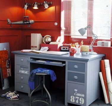 bureau chambre enfant modele cargo maison du monde