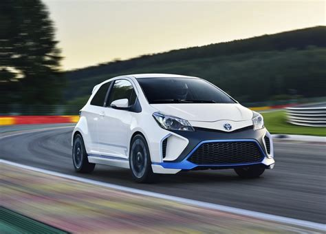 toyota yaris hybrid  concept review top speed