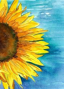 55, Very, Easy, Watercolor, Painting, Ideas, For, Beginners