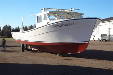 Lobster Boat Builders Pei by In Anyone Is Curious About Grp Lobster Boats
