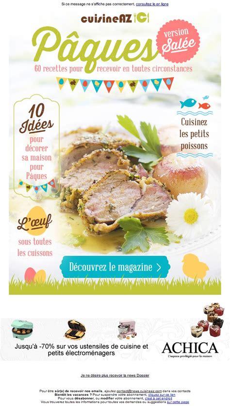 cuisine a az galerie de newsletters sur le thème quot quot the mailing book