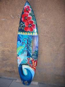Planche Surf Deco : ric roug surfboard galerie surf ~ Teatrodelosmanantiales.com Idées de Décoration