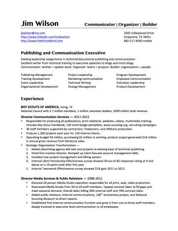 Bullet Point Resume by Bullet Style Resume
