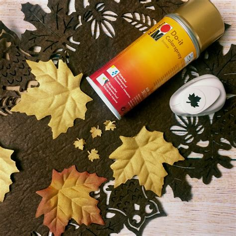 Deko Blätter Herbst by Balloonasblog Einfache Kreative Ideen Rund Um Den
