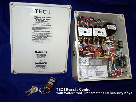 tec  remote small box