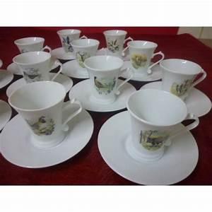Service Tasse à Café : service a cafe regence 14 tasses 10cl avec soustasses en ~ Teatrodelosmanantiales.com Idées de Décoration