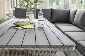 Gartenmöbel Set Runder Tisch : gartenm bel set rattan grau ~ Bigdaddyawards.com Haus und Dekorationen