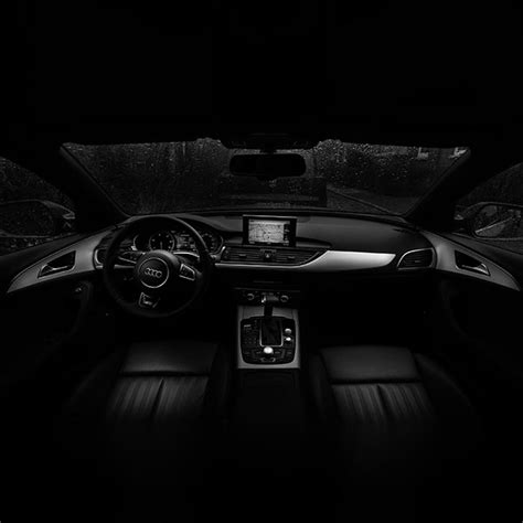 Wallpaper-no06-audi-car-interior-dark-bw