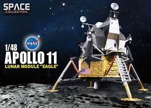 """Dragon Apollo Lunar Module """"Eagle"""" models - collectSPACE ..."""