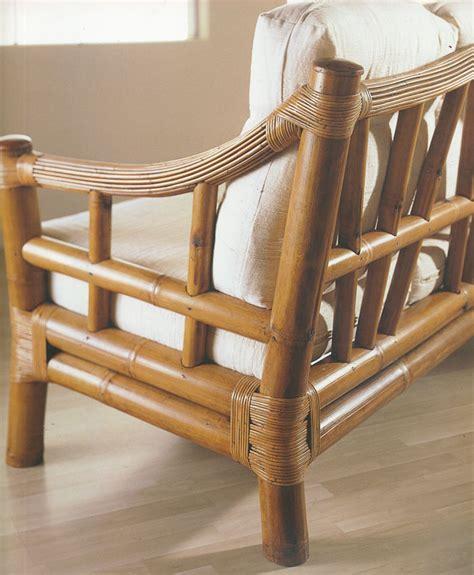 fauteuil bambou et rotin noka 4894