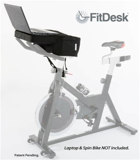 Stationary Pedals Desk by Stationary Bike Stands