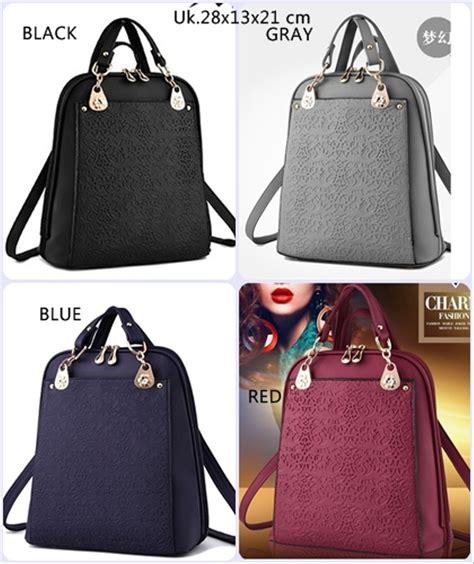 jual tas ransel import te56758 tas punggung ransel wanita