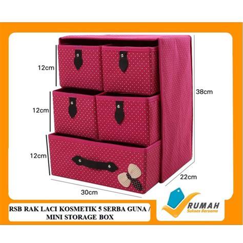 Rak Kosmetik Shopee rsb rak laci kosmetik 5 serba guna mini storage box
