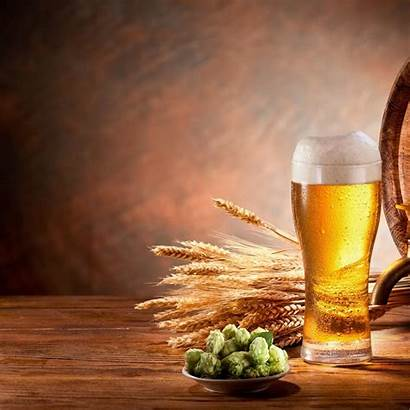 Beer Draft Background Restaurant Trio Outer Market