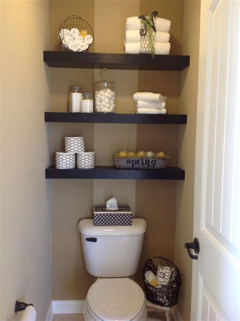floating shelving  mb toilet area bathroom ideas