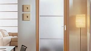prix d39une porte interieure en verre cout moyen tarif With pose d une porte interieure