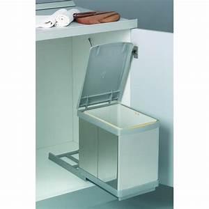 Poubelle Sous Evier Ikea : poubelle de cuisine coulissante sous vier 1 bac 16 l ~ Dailycaller-alerts.com Idées de Décoration