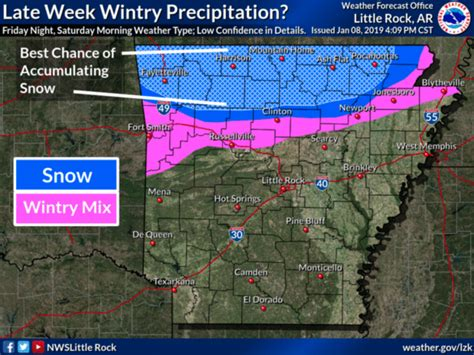 snow   fayetteville weather service
