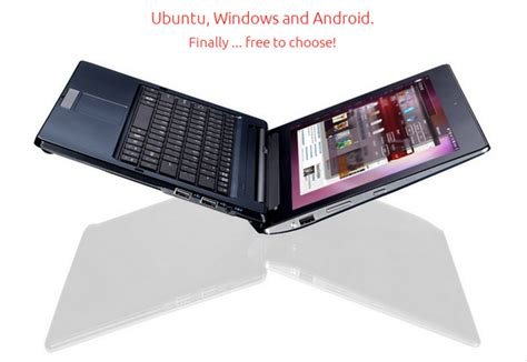 linux on android tablet new tablet boots ubuntu linux android and windows 8